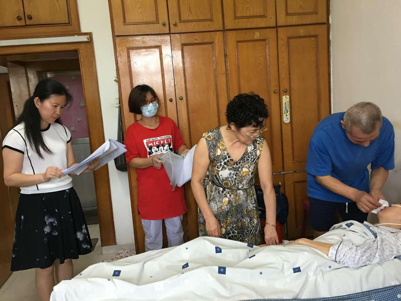 蛇口医院龙城社康开展医院首例家庭病床服务-深圳市